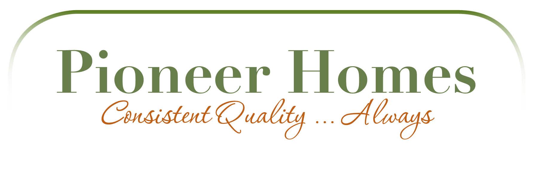Pioneer Homes Branding